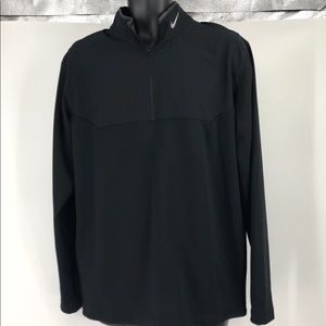 Nike Golf Gray Large Dri-Fit Performance Pullover